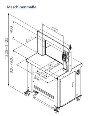 TP 702-59 - für Bandbreite 5 - 9 mm